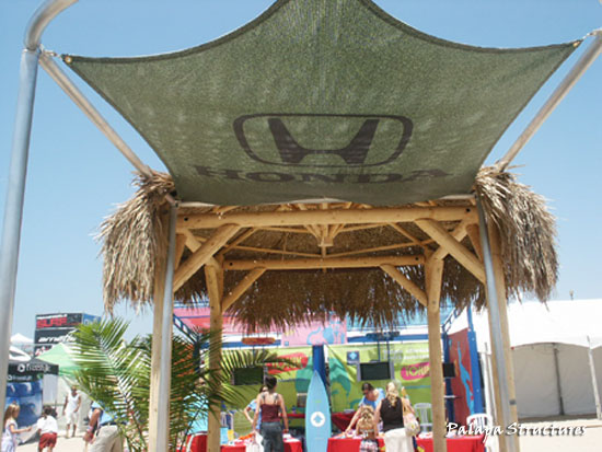 Honda Us Open Of Surfing Events Palapa Structures