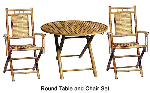 Bamboo Chairs And Table Set Bamboo Chairs And Table Set ...