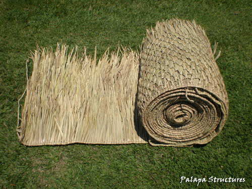Mexican Palm Thatch Roofing Materials How To Trim Palm