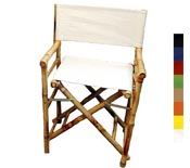 Bamboo Director's Chair- Low