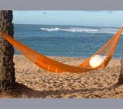 Yellow Nylon Hammock
