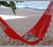 Red Nylon Hammock