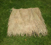 Palm Thatch Panel