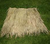 Palm Thatch Panel Top