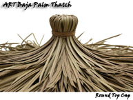 Synthetic Thatch Top Cone