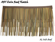 Art Pacific Palm Synthetic Thatch Panel