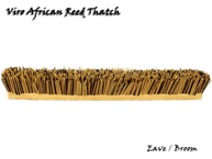 Synthetic Viro African Reed Thatch Eave