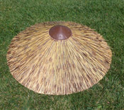Reed Thatch Top Cone