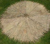 Palm Thatch Round Bottom
