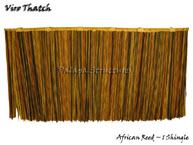 Viro African Reed Synthetic Thatch Umbrella Panel
