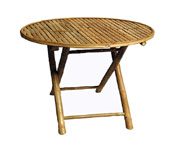 Bamboo Table- Round