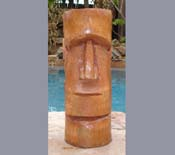 Easter Island Tiki God