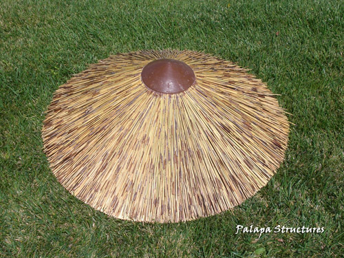 African Reed Thatch Roofing