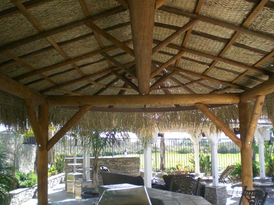 Tiki Huts Palm Palapa Structures Palapas